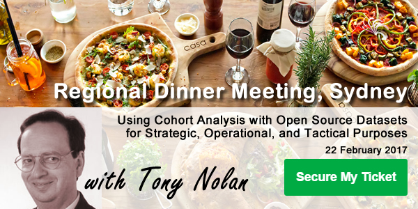 Sydney regional dinner meeting ad