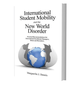 Picture of the front cover of a book: International student mobility