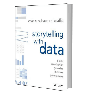Picture of the front cover of a book: Storytelling with data