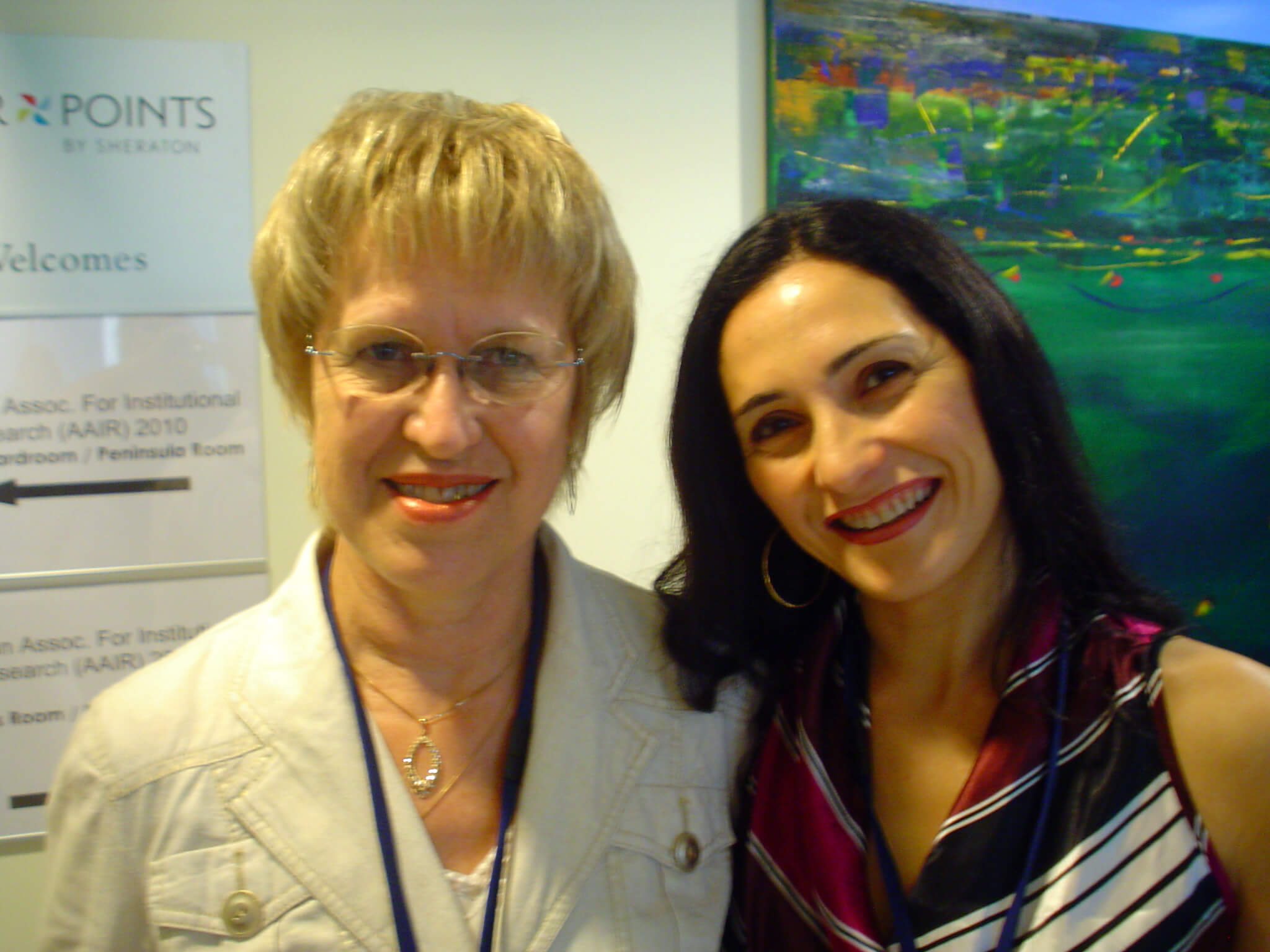 Photo of Dr Cay and Josie Palermo
