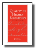 Quality in Higher Education journal cover