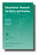 Educational Research for Policy and Practice journal cover