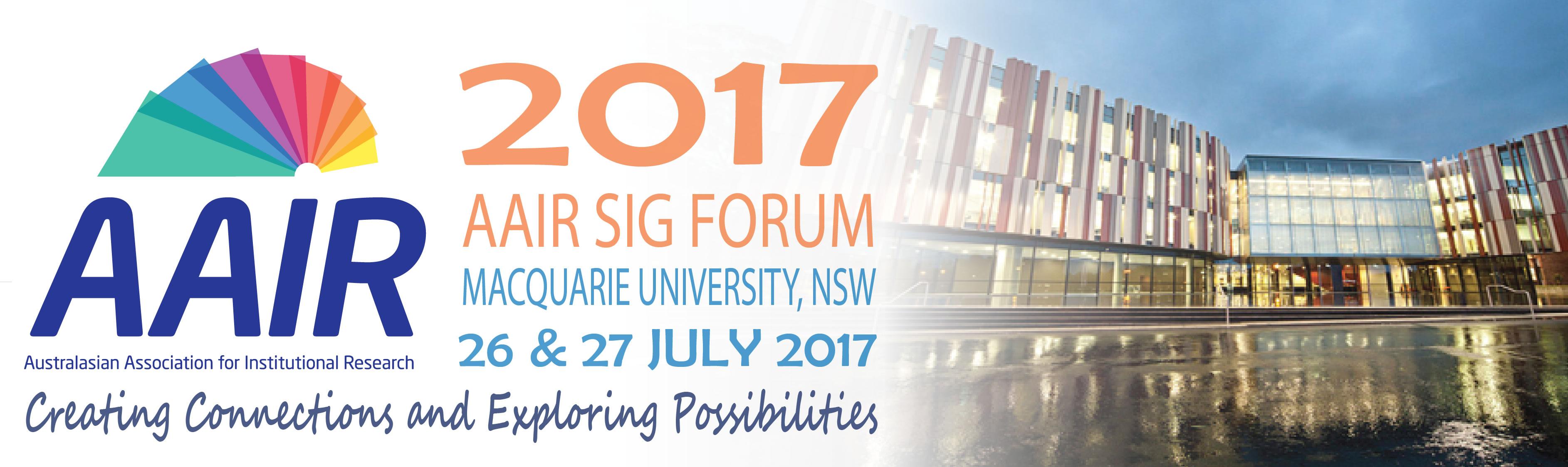 2017 SIG Forum Logo