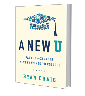 Picture of the front cover of a book: A New U