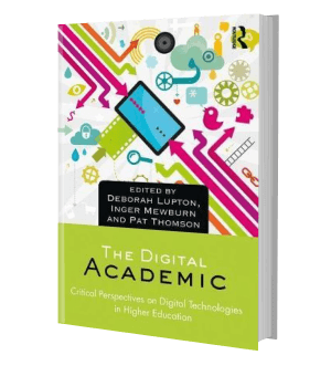 Picture of the front cover of a book: The Digital Academic