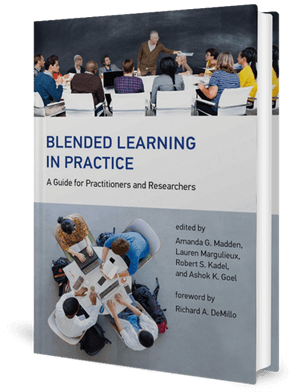 Cover of a book showing people in learning environments/classrooms