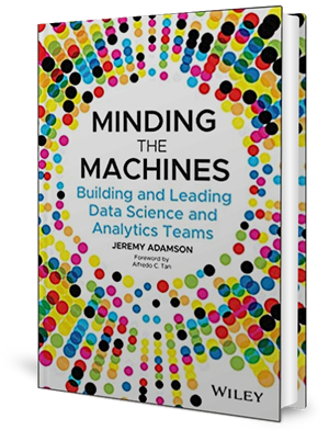 Cover of a book covered with colourful spots.